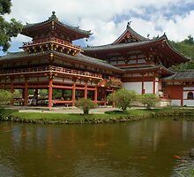 Buddhist Temple hawaii by photoeverywhere