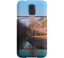 A bridge, the valley and beautiful reflections | architectural photography Samsung Galaxy Case/Skin