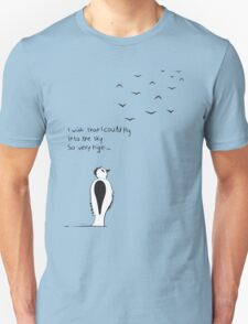 I wish that I could fly Unisex T-Shirt