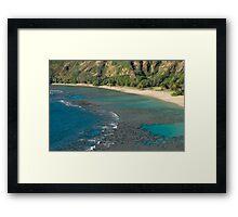 Hanuma Bay Corals Framed Print