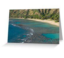 Hanuma Bay Corals Greeting Card