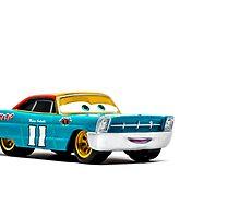 mario andretti disney pixar cars by Kevin Karpowicz