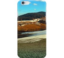 Scenic view below the Bohemian Forest | landscape photography iPhone Case/Skin