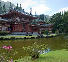 Byodo-In Buddhist Temple hawaii by photoeverywhere
