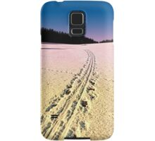 Cross country skiing | winter wonderland | landscape photography Samsung Galaxy Case/Skin