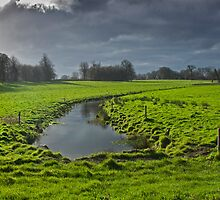 Culverted River, Blickling, Norfolk by Mawddach Photography