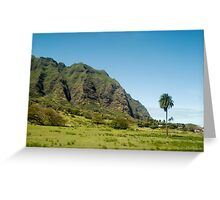 Koolau Range Greeting Card