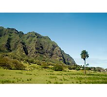 Koolau Range Photographic Print