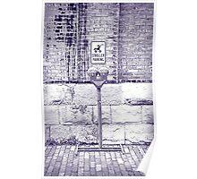 Iced Stroller Parking  Poster