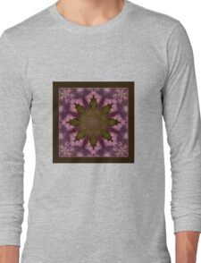 Flower of the Dragonfly - Shawl Long Sleeve T-Shirt