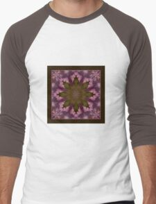 Flower of the Dragonfly - Shawl Men's Baseball ¾ T-Shirt