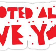 I've already VOTED have you? (Triple j hottest 100 Australia) Sticker