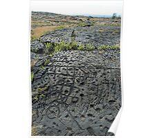 Puu Loa Petroglyphs Poster
