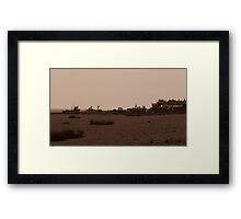 Fishing Boats, Aldeburgh Beach Framed Print