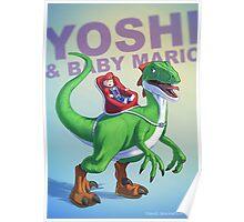 Yoshi BADASS Poster