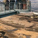 The Skywalk viewing platform at Garzweiler II lignite mine near Cologne, NRW, Germany. by David A. L. Davies