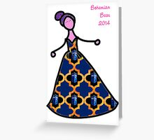 Police Box Gown Greeting Card