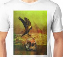 The crow of Egyptian plains Unisex T-Shirt