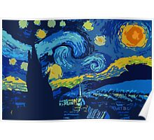 Starry Night- A Vincent Van Gogh Classic Poster