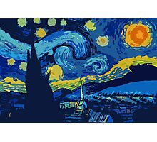 Starry Night- A Vincent Van Gogh Classic Photographic Print