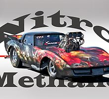 Nitromethane Pro Mod Corvette by DaveKoontz