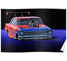 1967 Chevrolet Nova SS Pro Mod Poster