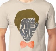 Bow Ties Are Cool - White Unisex T-Shirt