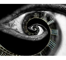 Infinity of the eye of time  Photographic Print