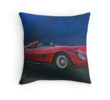 1959 Ferrari Dino 196 S Throw Pillow