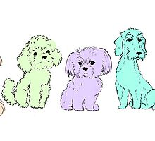Selection of small dogs by LiseRichardson