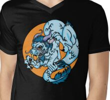 Chinese Water Dragon Mens V-Neck T-Shirt