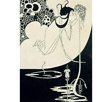 The Climax, illustration from 'Salome' by Oscar Wilde Photographic Print