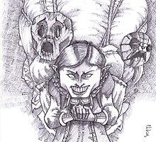 Happy Masks Salesman Zelda Majora's Mask by r4fu