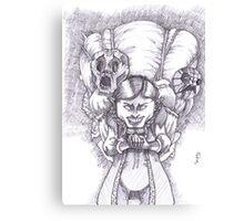 Happy Masks Salesman Zelda Majora's Mask Canvas Print