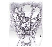 Happy Masks Salesman Zelda Majora's Mask Poster