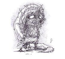 Deku Link Zelda Majora's Mask Photographic Print