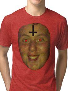 jon is satan Tri-blend T-Shirt