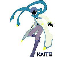 V3 KAITO Box Art Silhouette Photographic Print