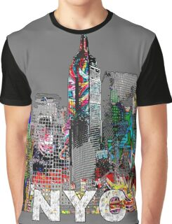 NYC Graffiti Graphic T-Shirt