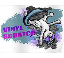 Street Dance Vinyl Scratch 2.0 Poster