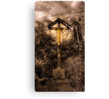 Jesus Christ on the Cross Canvas Print