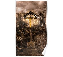 Jesus Christ on the Cross Poster