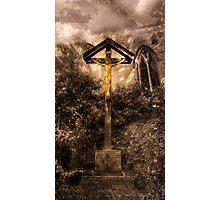 Jesus Christ on the Cross Photographic Print