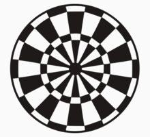 Darts board One Piece - Short Sleeve