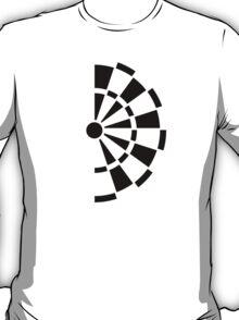 Half darts board T-Shirt