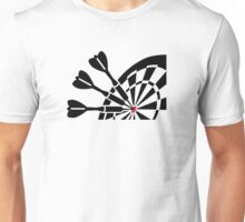Darts dart board Unisex T-Shirt