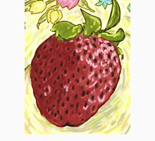 Strawberry and plate Unisex T-Shirt