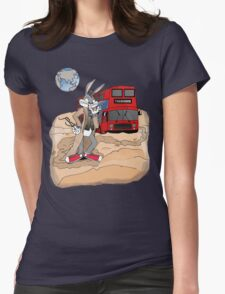 Planet of the Bugs Womens Fitted T-Shirt