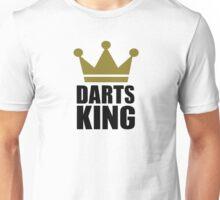 Darts king champion Unisex T-Shirt