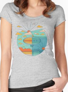 As Above, So Below Women's Fitted Scoop T-Shirt